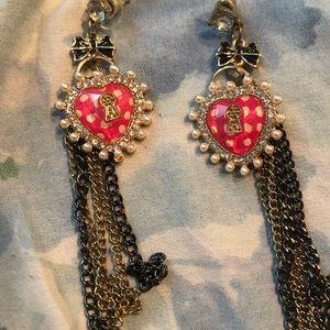 Betsey Johnson earrings!